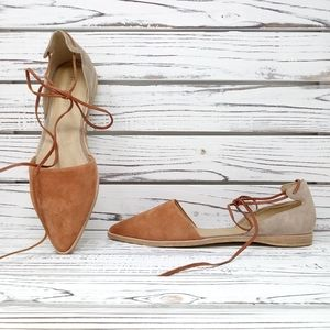 Anthropologie Gee WaWa Adelle Leather Flats
